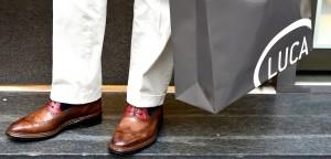 Spedizione gratuita Luca calzature milano shoponline scarpe uomo donna fatte a mano