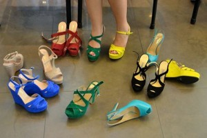 sandali colorati luca calzature milano