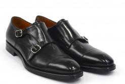 Doppia fibbia scarpe uomo lucacalzature milano