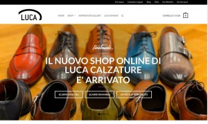 sito ecommerce luca calzature