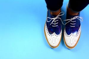 Francesine donna stringate calzature milano