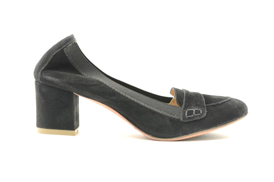 E Classica scarpa Sax Con In Donna Ballerina Elastico Camoscio XgR80wq1 f1909d7a83c