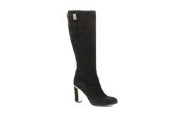 Stivale donna tacco 9 in camoscio con plateau,negozio scarpe milano lucacalzature ora anche online (3)