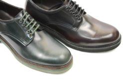Scarpa sportiva uomo in pelle con vibram,calzature artigianali realizzate in italia james Benson lucacalzature milano
