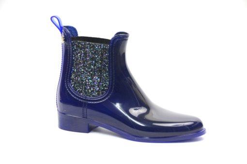Stivaletto chelsea Lemon Jelly in gomma con elastico in glitter,collezione donna scarpe autunno inverno 2015-2016 lucacalzature (1)