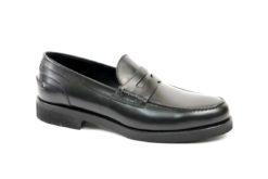Mocassino classico in pelle tipo clarks saxone da uomo solo nei negozi lucacalzature a milano in corovercelli shopping online.