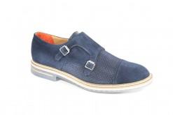 Doppia fibbia in camoscio brimarts shoes ,prodotto made in italy,Scarpa sportiva ed elegante Lucacalzature milano.Shoponline ecommerce www.lucacalzature.it