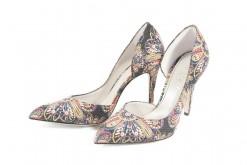 La moda delle scarpe fiorate ritorna per la primavera estate 2016 da lucacalzature a milano in corso vercelli angolo settimio severo e sul nostro online shop www.lucacalzature