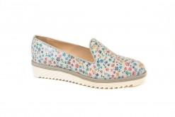 Pantofole,slipon in pelle stampata con fantasia Primavera,Shoponline www.lucacalzature.