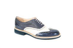Scopri tutte le scarpe stringate da donna Primavera Estate sul nostro ecommerce www.lucacalzature.it .Francesina stringata tricolore. (Copia)