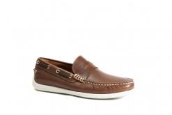 Scarpe da uomo per la barca in vitello ingrassato con suola di gomma.Frau shoes made in Italy.#lucacalzature