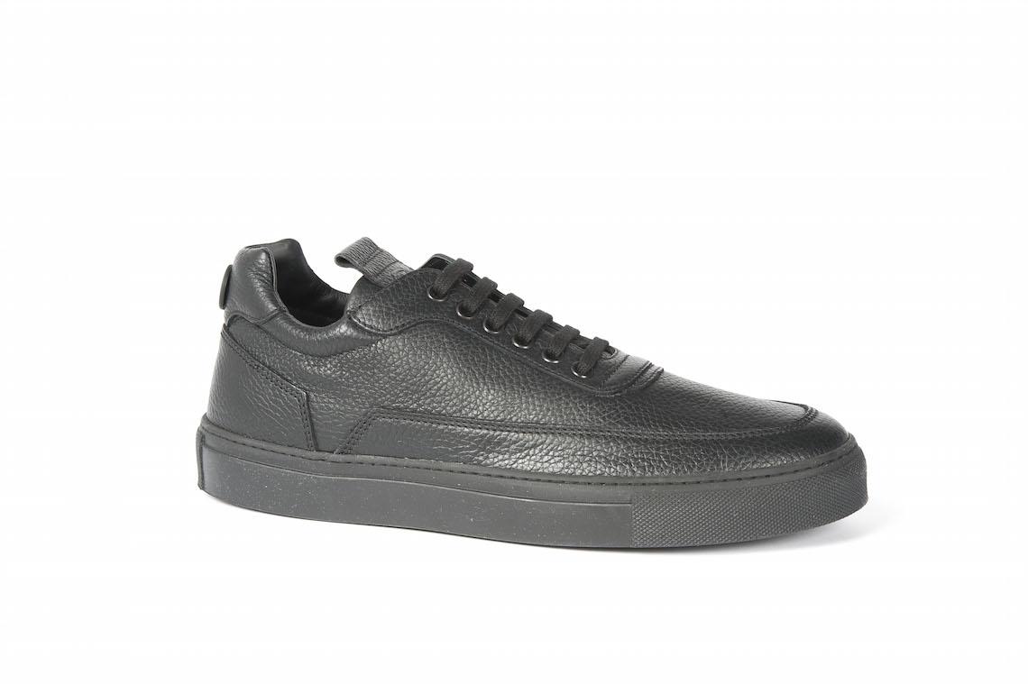Popolare Scarpe sportive di vaio in pelle nere. – Luca Calzature E-store OW49