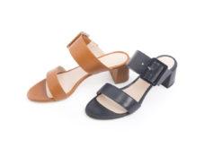 Scarpe da donna per la stagione estiva,decolletè , ballerine, sandali alti e sandali bassi.