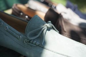Mocassini da uomo sportivi in camsocio con gommini,scegli i modelli artigianali Lucacalzature a Milano in corso vercelli.