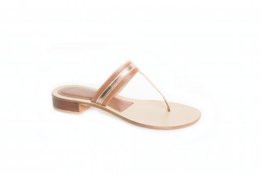 Sandalo basso in pelle, scegli i sldi lucacalzature a Milano in corso vercelli.