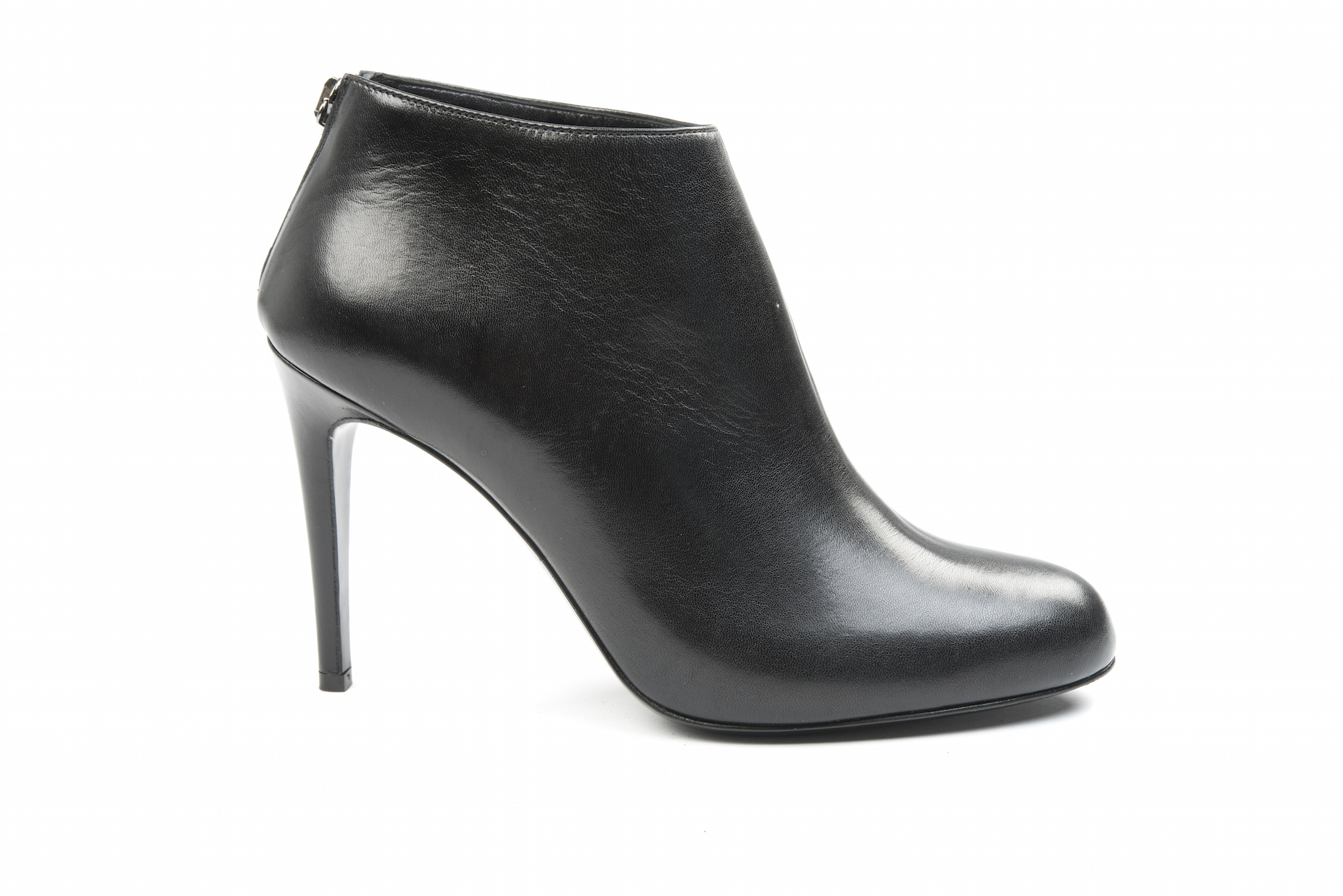 In Ankle Calf With Boots Black Heel High Oaqrq5R60