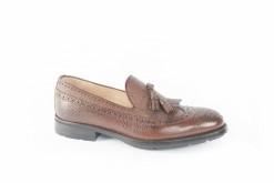 Pantofola in pelle con frangia, scopri i modelli per il tuo look Lucacalzature Natale 2017.