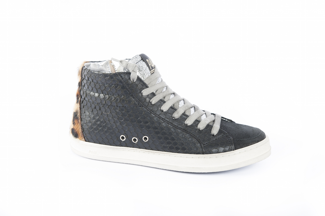 Sneakers woman in leather and tex. – Luca Calzature E-store 863fccbbddd