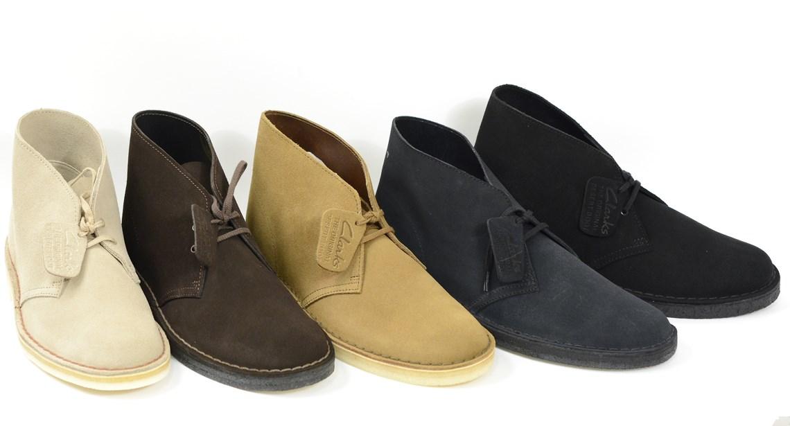 Polacchino desert boot clarks