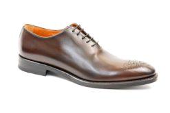 Francesina in pelle da uomo elegante,calzature classiche realizzate a mno in italia