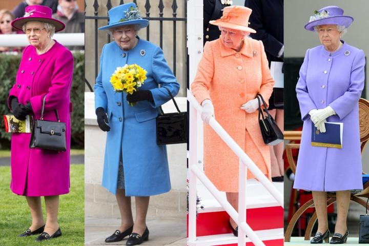 Regina Elisabetta 63 anni scarpe