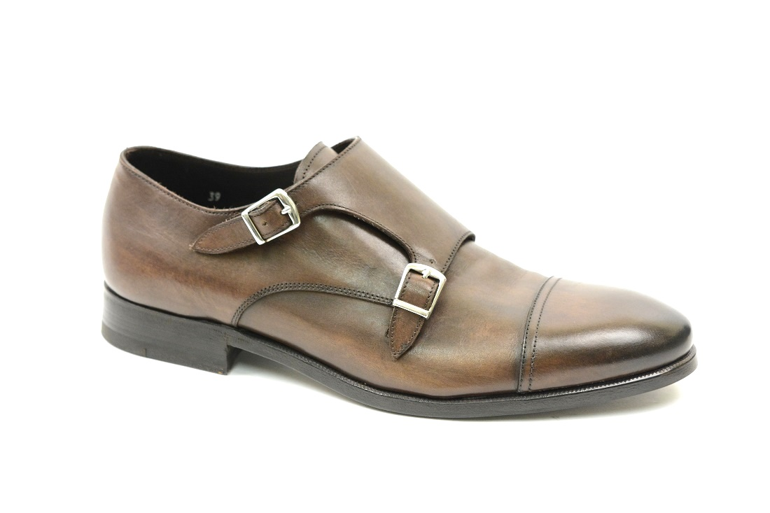 885bec2fbe095 scarpe uomo doppia fibbia monkstrap in offerta