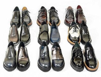 scarpe stringate donna collezione autunno inverno donna lucacalzature,francesine,mocassini,slipon,derby,doppiefibbie.