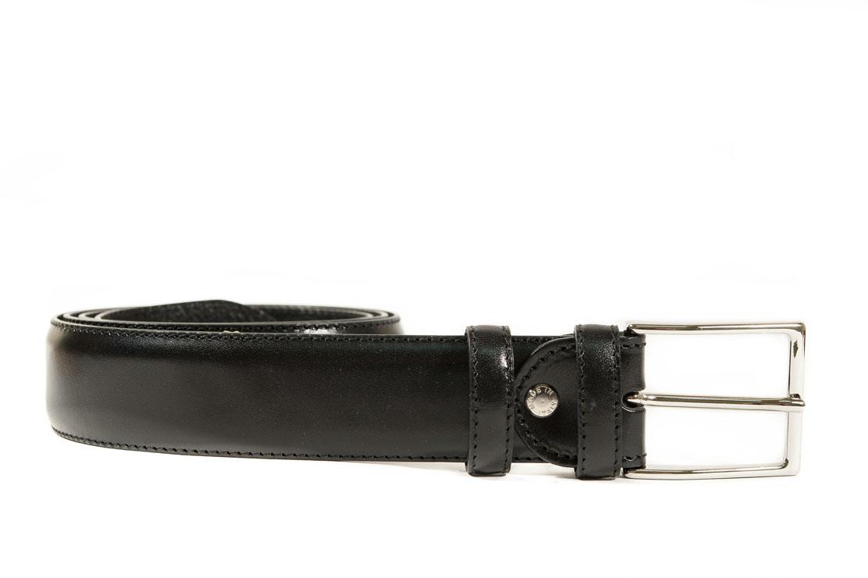 vendite calde 10afd bfad3 Cintura nera in pelle elegante classica.