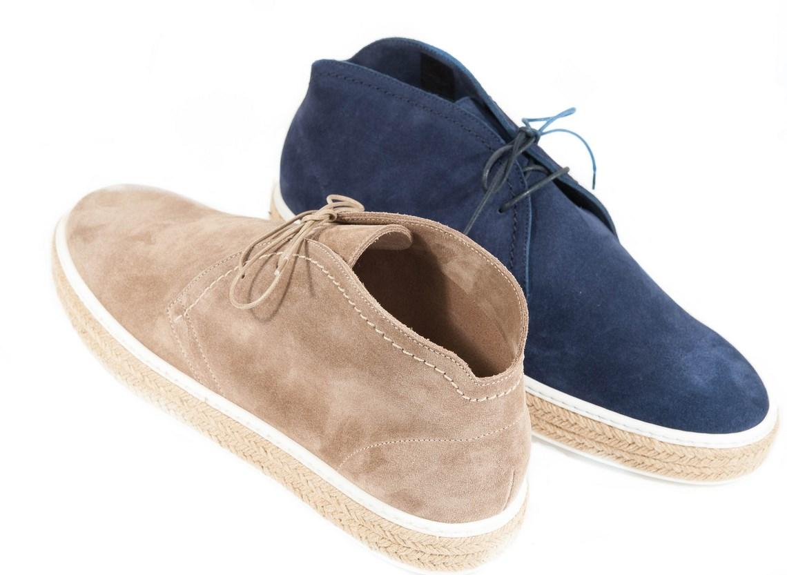 sports shoes fa768 2f624 Polacchino sportivo in camoscio