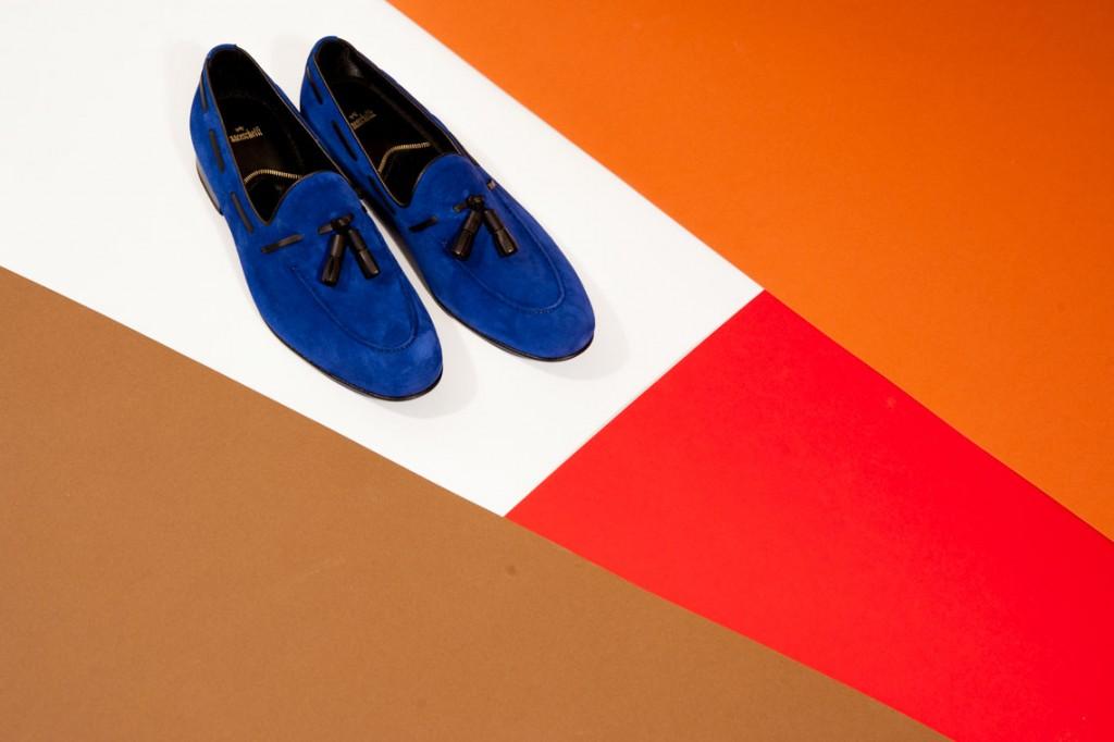 Mocassino uomo Franceschetti shoes ,studio scarpe still life Milano.