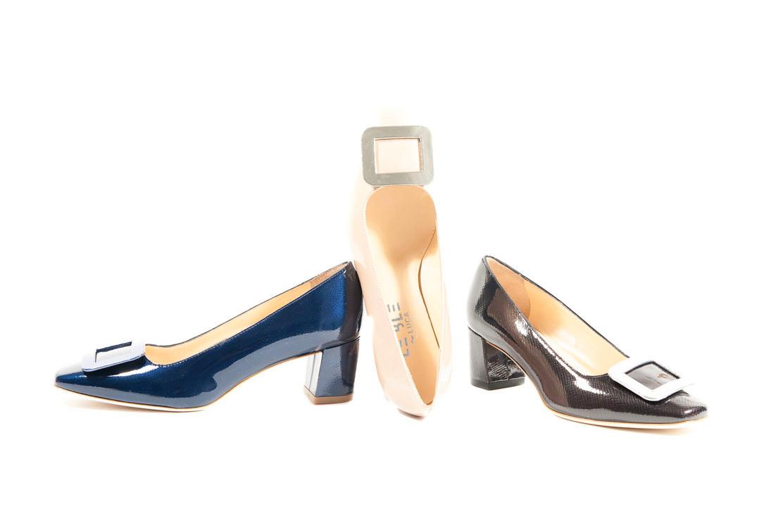 check out a2b6e a6ca1 Scarpe colorate donna con tacco e accessorio.Scopri tutta la ...