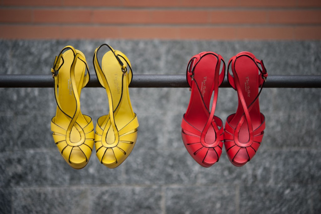 Sandali da donna con tacco alto e plateau.Shoponlin eLucacalzature