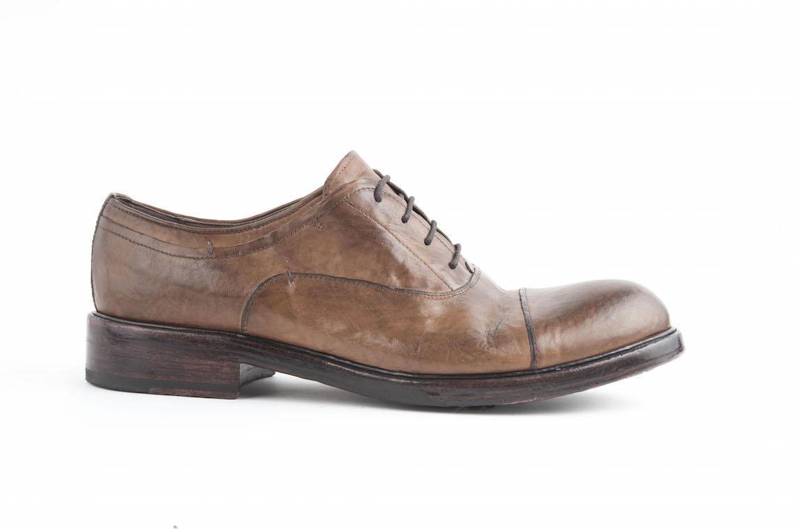 Francesina in pelle stile vintage con elastico. – Luca Calzature E-store f86d123c8b1