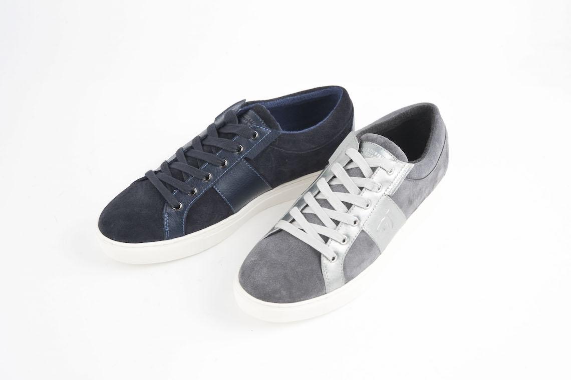 Sneaker Trussardi in camoscio e in pelle. – Luca Calzature E-store b1f8c7f475d