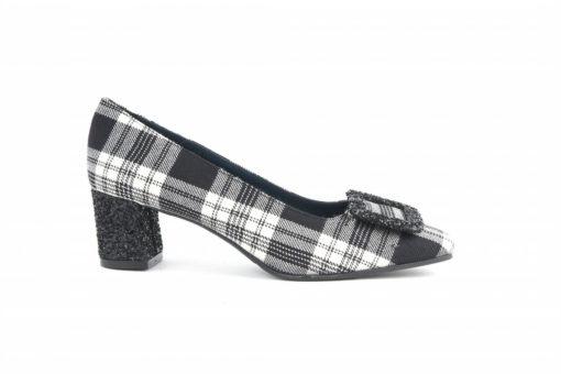 scarpe-in-tessuto-tartan-con-tacco-medio-in-glitterscopri-tutte-le-collezioni