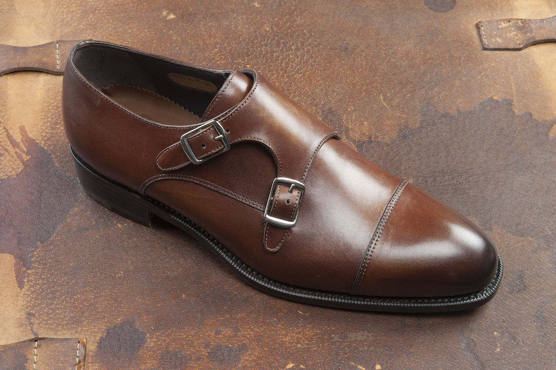 Monkstrap in leather. – Luca Calzature E-store 490bc1c66aa