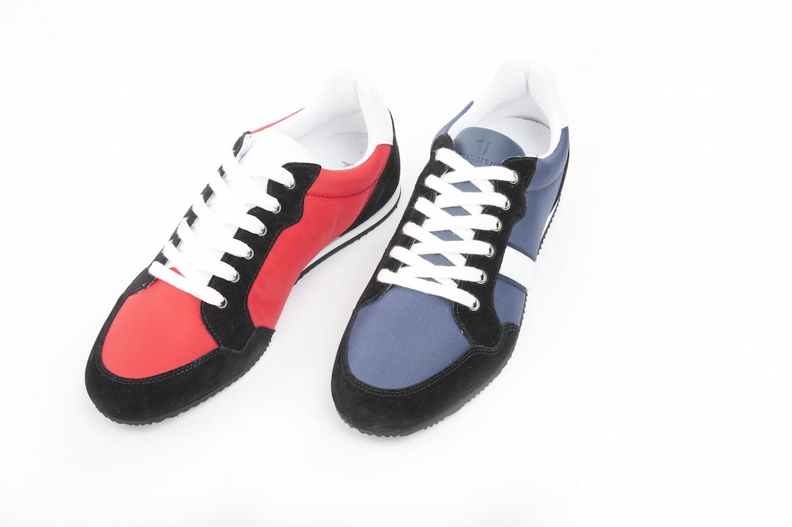 Sneakers Trussardi Jeans in tessuto e camoscio. – Luca Calzature E-store 2dbf1759bbe