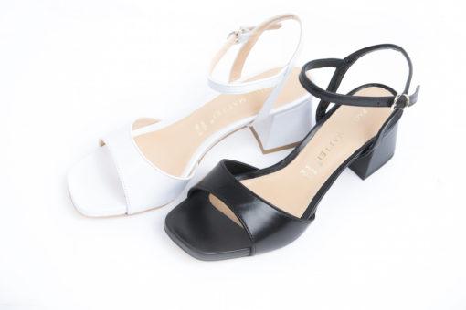 Sandalo da donna in pelle semplice e classico,per la donna che vuole essere comoda tutto il giorno in ufficio.
