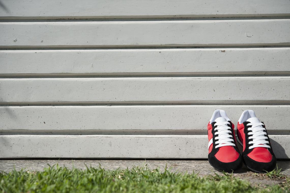 Sneakers Trussardi Jeans in tessuto e camoscio. – Luca Calzature E-store 93217d9f320