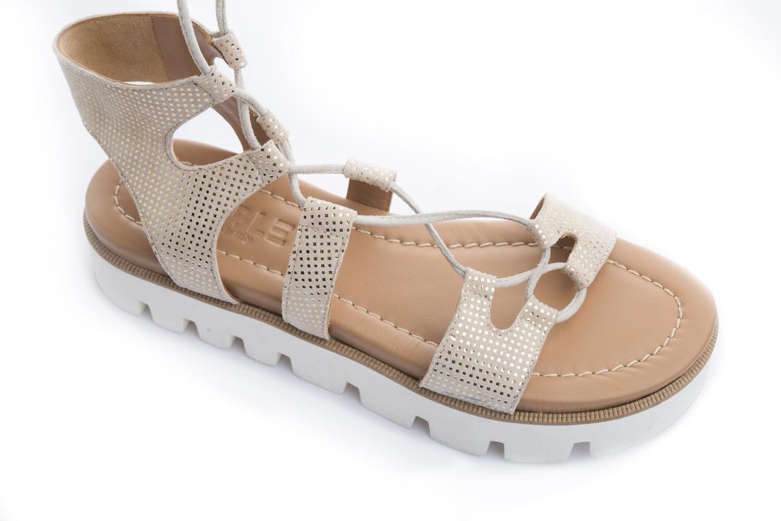 Sandalo con cinturino alla schiava e suola gomma. – Luca Calzature E ... 6974bcd3e2f