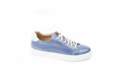 Sportiva da uomo tipo Adidas stan smith da uomo in pelle vera made in italy Exton.