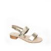 Modelli sandali bassi con tacco da lucacalzature, scegli i modelli che preferisci sul nostro ecommerce.