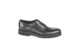 Oxford da uomo con suola vibram, calzature italiane da uomo.