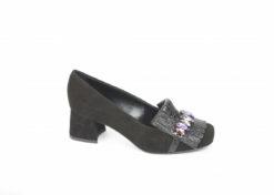 Scarpa da donna con tacco medio, lucacalzature milano, acquista sul nostro ecommerce italiano.