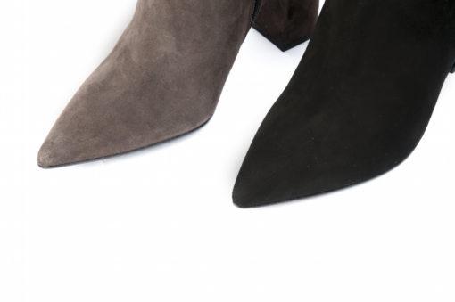 Stivaletti da donna eleganti con i tacchi alti, lucacalzature Milano.