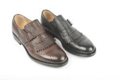 Pantofola con frangia e accessorio fibbia,scegli le tue slipon.