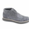 Polacchini classici stile desert boot in panno, gold brothers shoes, made in italy.