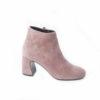 Scegli gli stivaletti da donna in camoscio con il tacco alto, aldo castagna shoes.